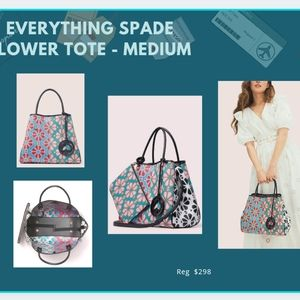 Kate Spade - Everything Spade Flower Tote